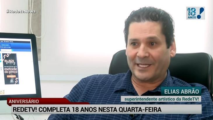 Elias Abrão confirma novo estúdio, minissérie e novela na RedeTV! até 2019