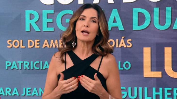 Fátima Bernardes falou sobre acusações contra a jornalista da Folha - Foto: Reprodução/Globo