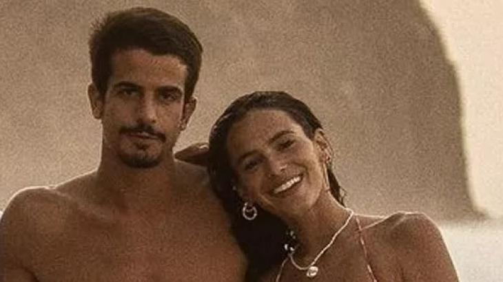 Enzo Celulari e Bruna Marquezine em Fernando de Noronha