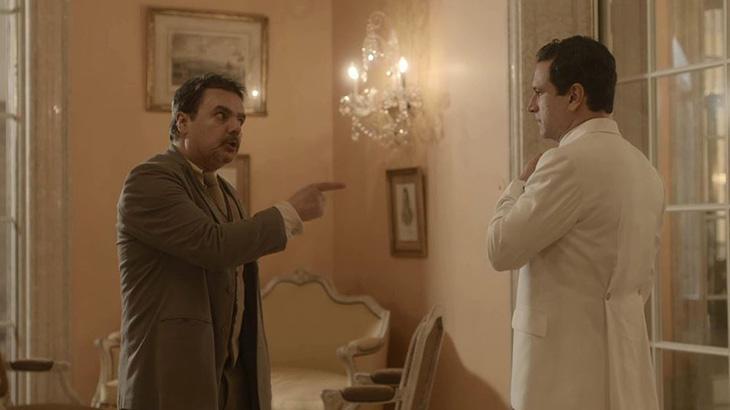 Éramos Seis: Afonso dá um soco em João Aranha e ordena: