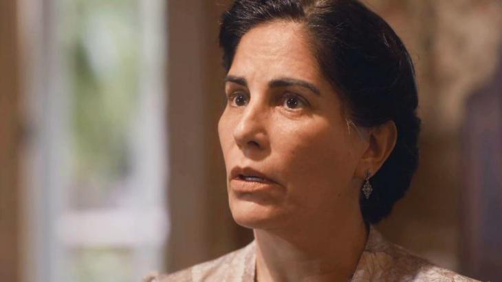 Lola sai em defesa da família em Éramos Seis - Reprodução/TV Globo