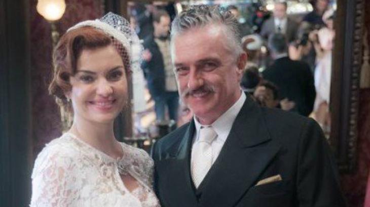 Assad e sua nova mulher - Divulgação/TV Globo