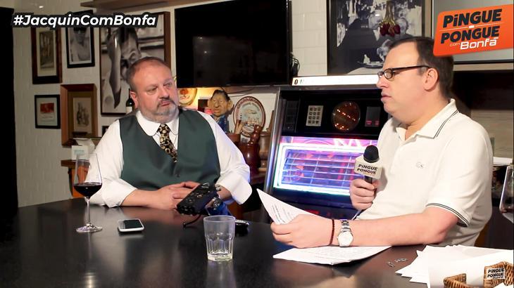 Erick Jacquin em entrevista com Bonfá - Foto: Reprodução/Youtube
