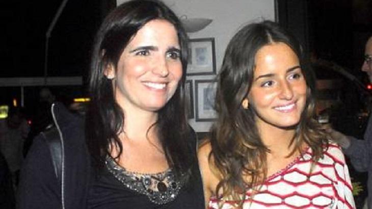 Malu Mader e Erika Mader juntas - Foto: Reprodução/Internet