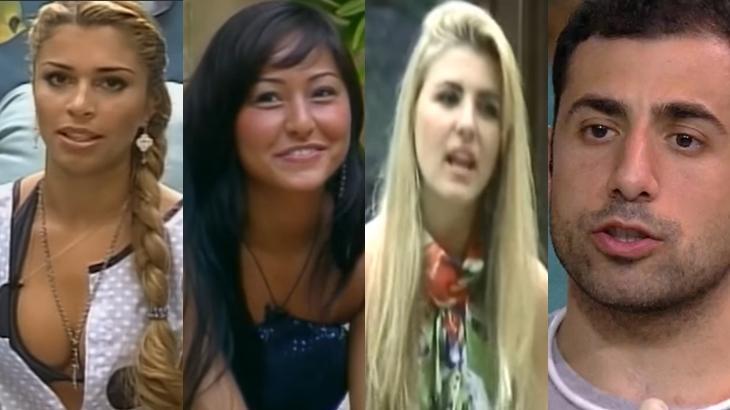 Grazi, Sabrina, íris e Kaysar; relembre outros ex-BBBs que bombaram após saírem do reality show. (Reprodução/TV Globo)