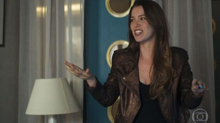 Fabiana será ameaçada por Leandro - Reprodução/TV Globo