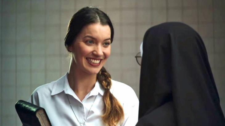 Fabiana cuidará das finanças do convento (Foto: Globo/Reprodução)