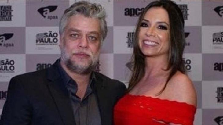 Fábio Assunção ao lado da namorada Mel Pedroso - Foto: Reprodução/Instagram
