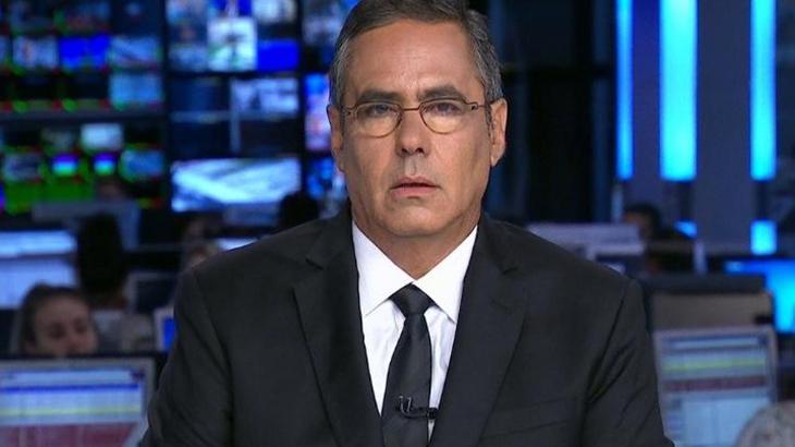 Fábio Pannunzio criticou a Globo após colega fazer denúncia de imagens - Reprodução