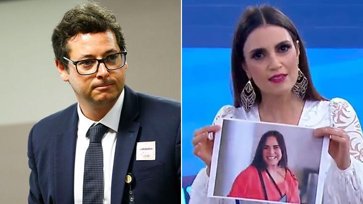 """Fábio Wajngarten, secretário de Bolsonaro, ataca Chris Flores por """"triturar"""" Regina Duarte"""
