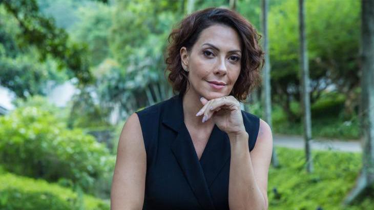 Atriz interpreta uma mulher de fibra em Bom Sucesso - Rafael Lima/TV Globo