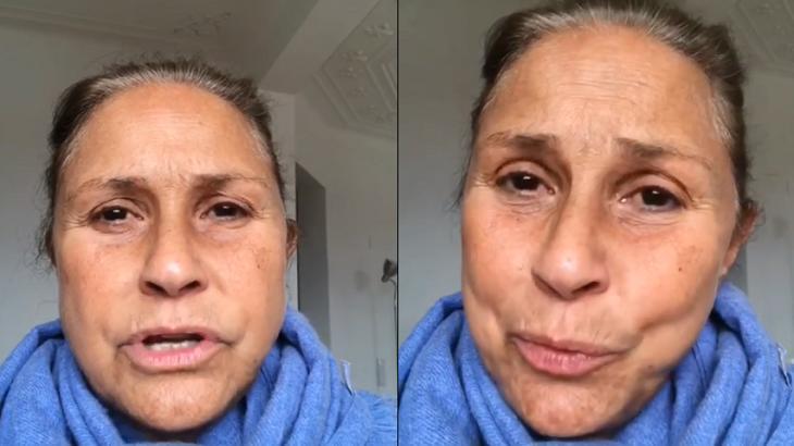 Fafá de Belém gravou vídeo para falar sobre o irmão - Foto: Reprodução/Instagram