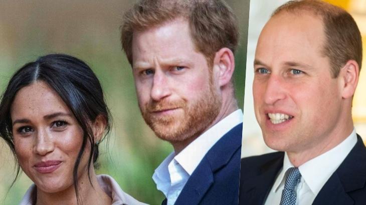 Meghan Markle, Harry e William