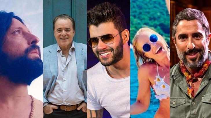 A Semana dos famosos e da TV - Foto: Montagem