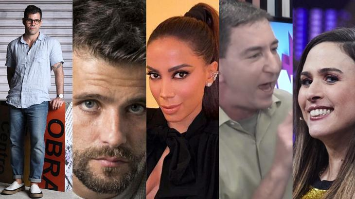 De sopapo entre jornalistas a Bruno Gagliasso fora da Globo: A semana dos famosos e da TV