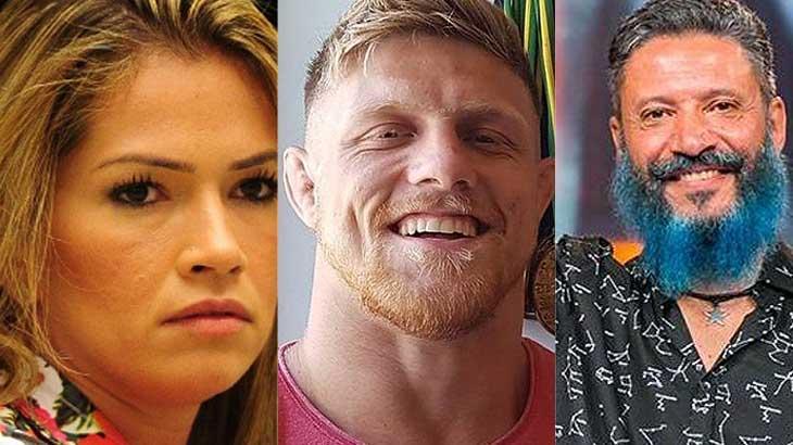 Fani Pacheco, Fábio Alano e Laércio deram problemas para a Globo