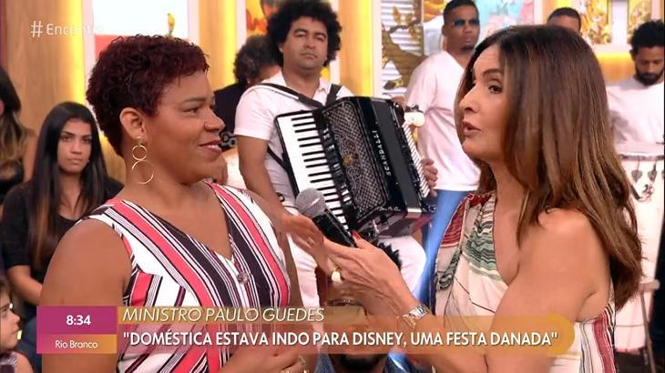 Fátima Bernardes rebate Ministro de Bolsonaro: