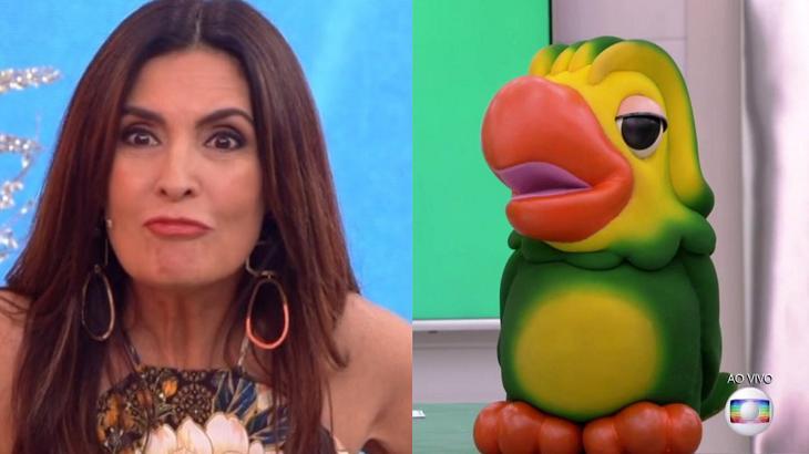 Fátima Bernardes cometeu uma gafe ao vivo na manhã da Globo, ela chamou o Louro José pelo nome de seu intérprete, Tom.