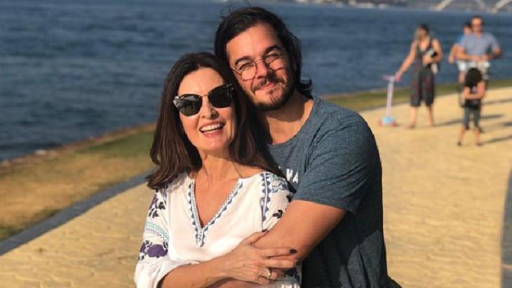 Túlio Gadelha e Fátima Bernardes juntos - Foto: Reprodução/Instagram