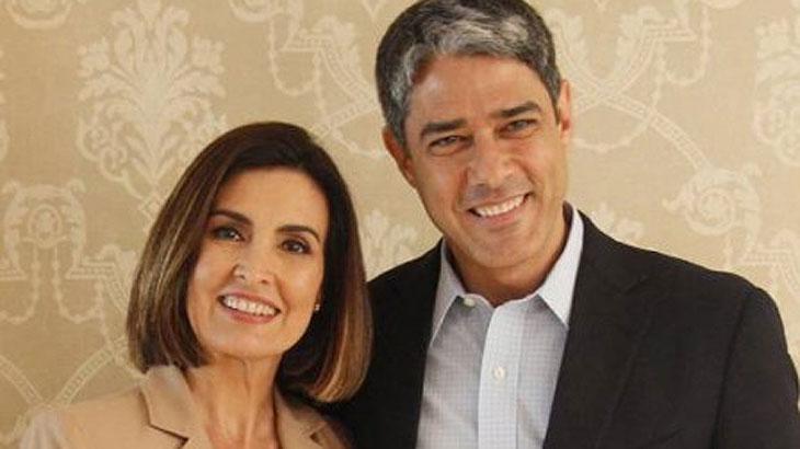 William Bonner e Fátima Bernardes estão separado há alguns anos. Foto: Divulgação