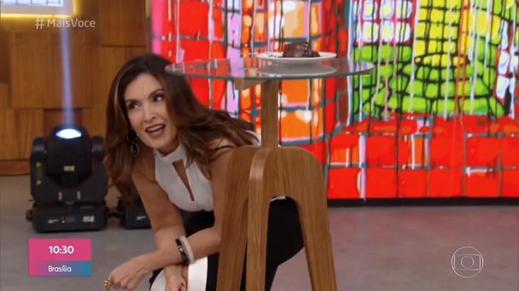 Fátima Bernardes e Ana Maria Braga conversaram nesta terça (22)