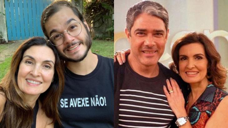 Túlio Gadêlha disse não ter se incomodado com Fátima Bernardes, que o chamou de William em live - Foto: Montagem NT