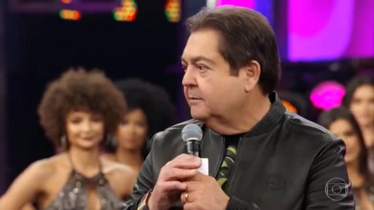 Faustão, apresentador do Show dos Famosos, quadro do Domingão