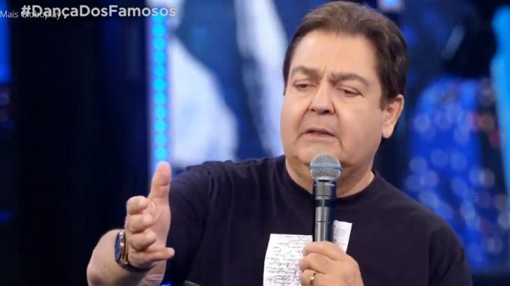 Faustão mostrou sua sinceridade neste domingo (29) - Foto: Reprodução/Globo