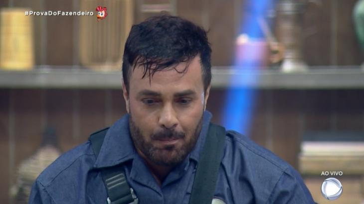 Peões disputaram mais uma Prova do Fazendeiro no reality show A Fazenda 2019 (Reprodução)
