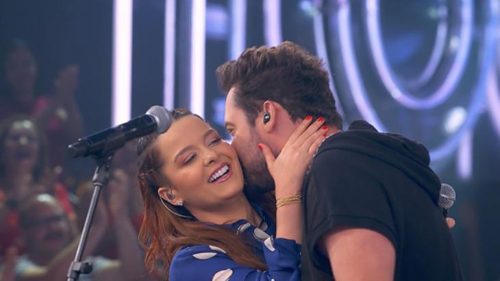 Maiara e Fernando: clima de romance (Foto: Globo/Reprodução)