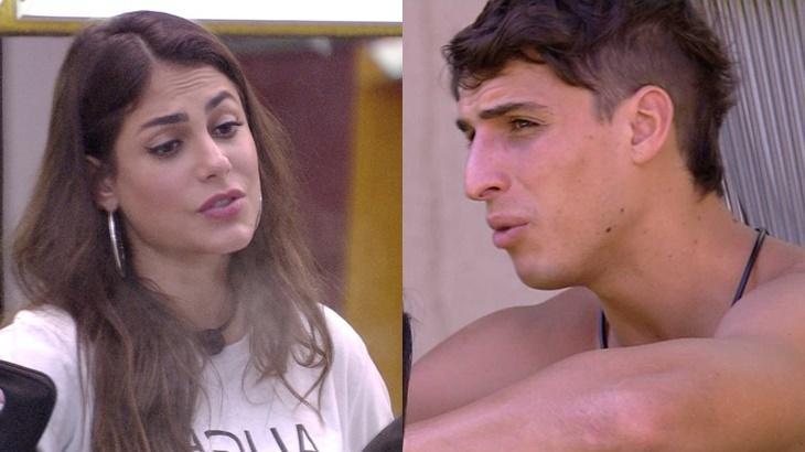 Felipe Prior não quer aproximação de Mari no BBB20 - Foto: Globo