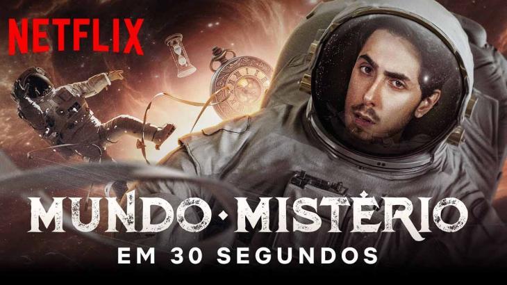 Netflix: Mundo Mistério, de Felipe Castanhari, tem data de estreia revelada