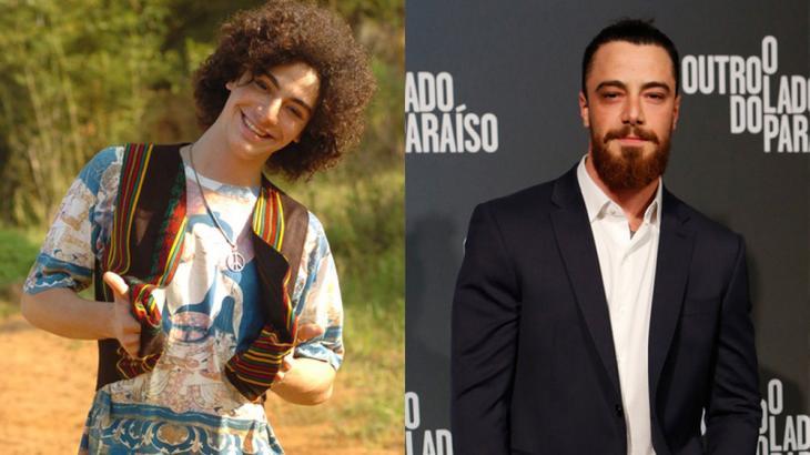 O antes e depois de Felipe Titto - Divulgação/GShow