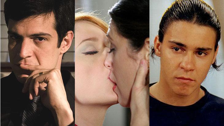Personagens gays como Félix, Marcela, Sandrinho e outros