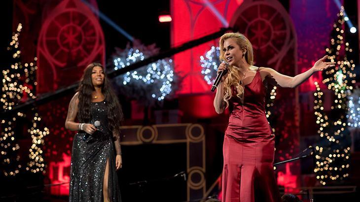 Ludmilla e Joelma são uma das atrações do show