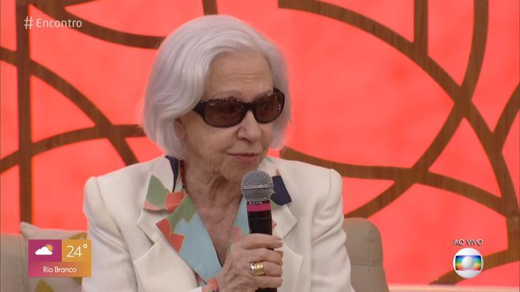 Fernanda Montenegro defendeu, no Encontro, a liberdade para livros
