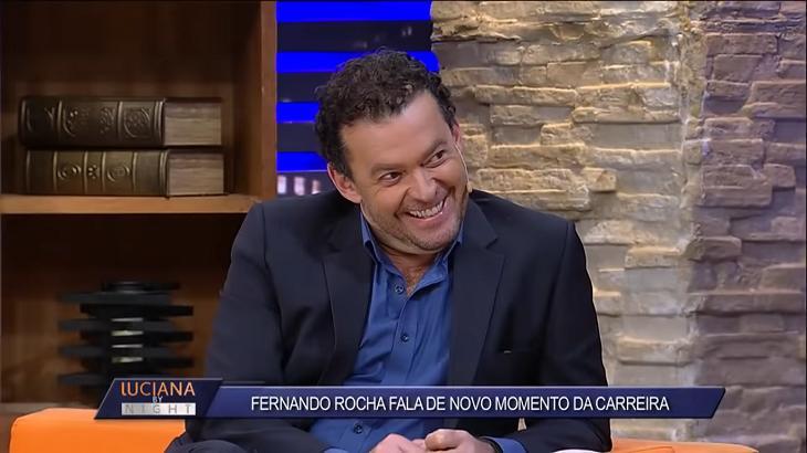 Fernando Rocha foi entrevistado por Luciana Gimenez - Foto: Reprodução/RedeTV!