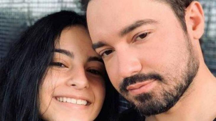 Fernando Zor ao lado da filha