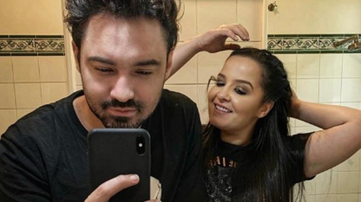 Fernando Zor e Maiara: casal voltou após uma semana separado - Foto: Reproução