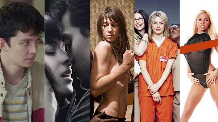 Nudes, sexo e vida de astros pornô: As séries e filmes mais eróticos da Netflix