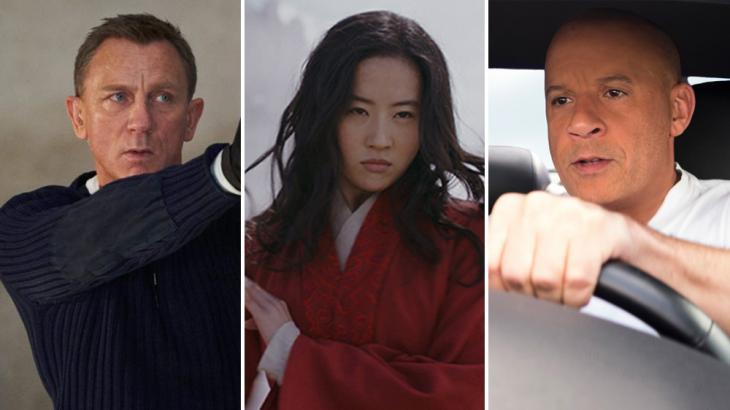 007, Mulan e Velozes e Furiosos foram filmes adiados por conta do coronavirus