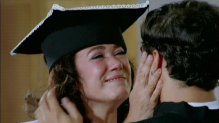 Griselda e Antenor fazem as pazes no final de Fina Estampa - Reprodução/TV Globo