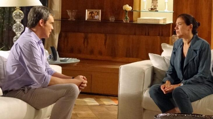 Fina Estampa: Griselda recusa proposta de René e ofende o ex