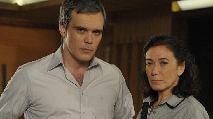 Dalton Vigh e Lilia Cabral em Fina Estampa