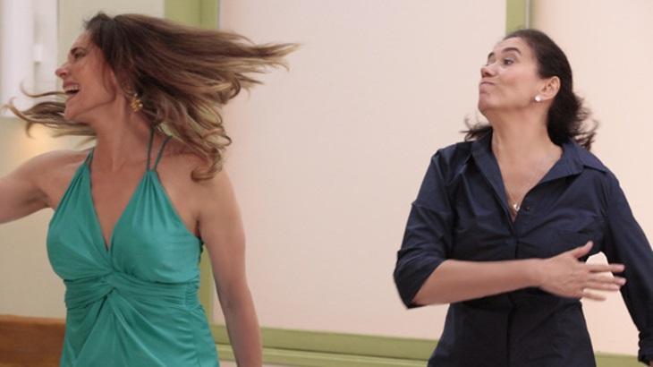 Griselda dá um tapa na cara de Tereza Cristina em Fina Estampa