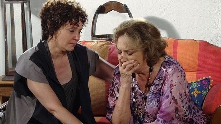 Fina Estampa: Tia Íris coloca namorada em perigo ao se aliar a Griselda - Novelas - NaTelinha