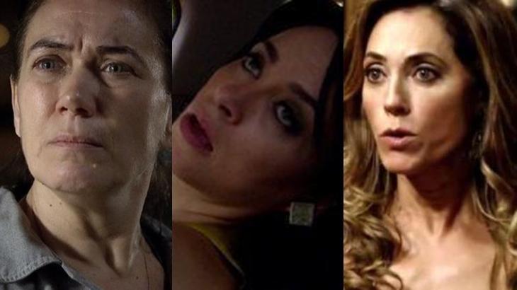 Fina Estampa: Griselda bate de frente, Tereza Cristina é cercada e fica apavorada