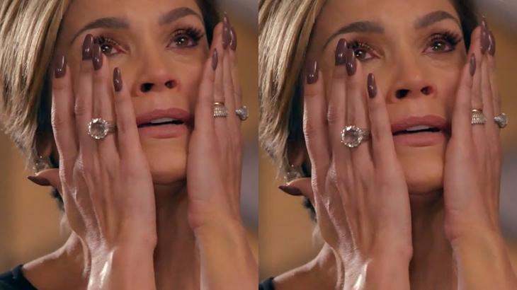 A atriz Flávia Alessandra em cena na novela Salve-se Quem Puder