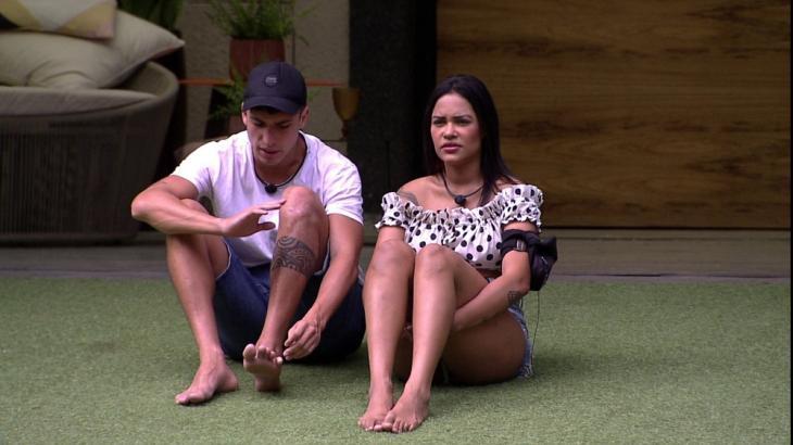 Flayslane fez desabafo sobre Thelma para Felipe Prior no BBB20 - Foto: Globo