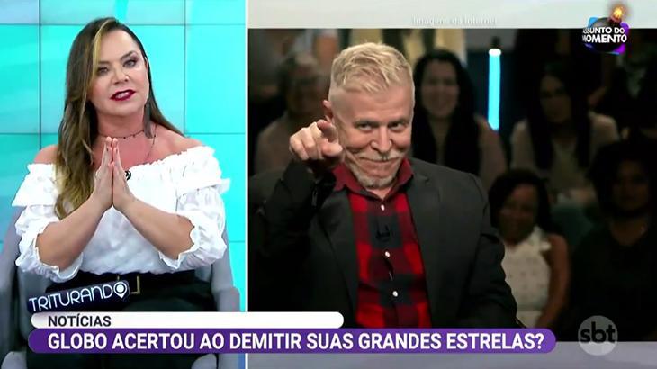 Flor comenta demissão de artistas da Globo no programa Triturando